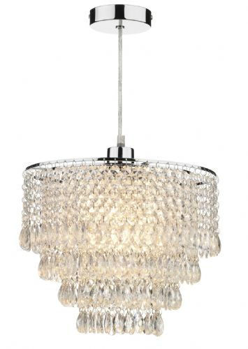 Dionne Clear Glass Tiered Non-Electric Pendant DIO6508 (063916)